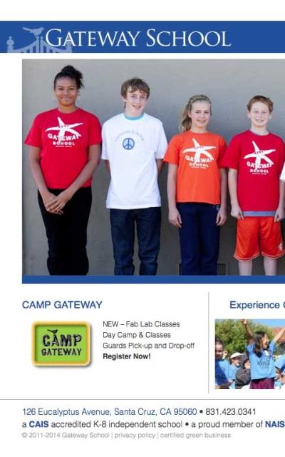 Gateway School - Website by ZapTuba